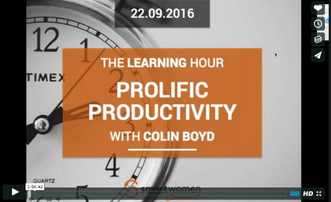 Prolific Productivity With Colin Boyd